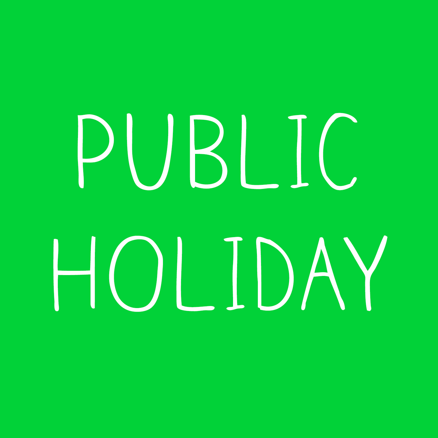 Ekka Public Holiday